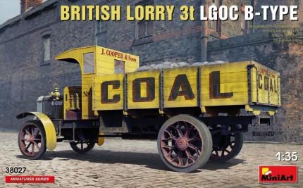 Miniart - Lorry 3t LGOC B-Type