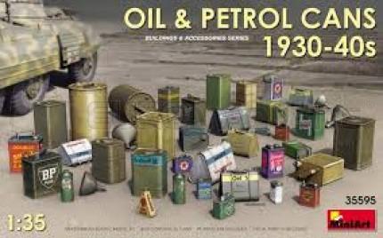 Miniart - Oil & petrol cans 1930/40