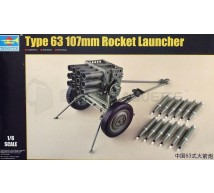 Trumpeter - Rocket launcher Type 63 107mm
