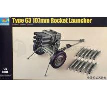 Trumpeter - Rocket launcher Type 63 107mm