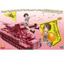 Hasegawa - Egg Girl R Hazumi & Morser Karl
