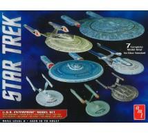 Amt - Pack USS Enterprise (7 modèles) 1/2500
