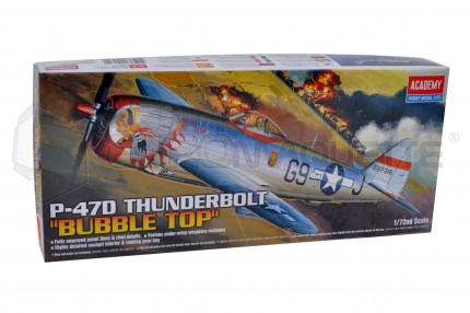 Academy - P-47D bubble Thunderbolt