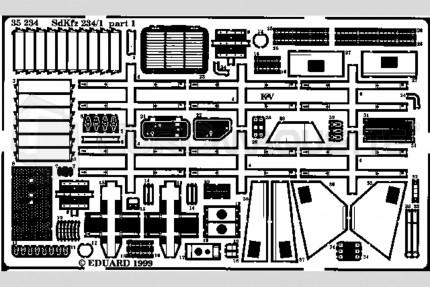 Eduard - SdKfz 234/1    (italeri)