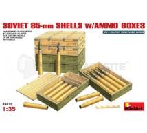 Miniart - Munitions 85mm Russe