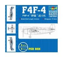 Trumpeter - F4F 1/200 (x5)