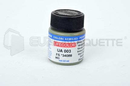 Life Color - Vert Olive FS34087 UA003 (pot 22ml)