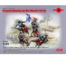 Icm - Infanterie Française pour taxi de la Marne