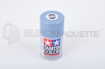 Tamiya - Bleu Clair Nacré Brillant TS-58 (bombe 100ml)