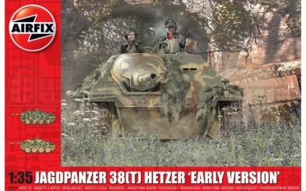 Airfix - Hetzer Early version