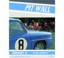 Pit wall - Decals Renault R8 film ne nous fachons pas
