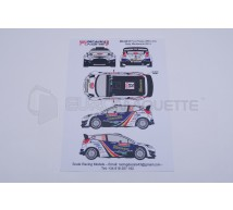 Racing decals 43 - Ford Fiesta 12 M-C 2013