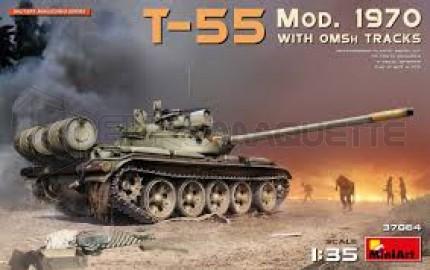 Miniart - T-55 Mod 70 & OMSh tracks