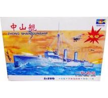 Trumpeter - canonnière zhong shan