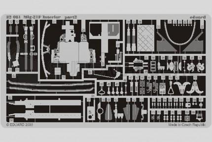 Eduard - Mig 21 F interieur (trumpeter)