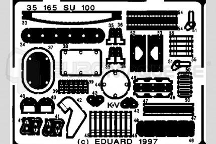 Eduard - SU-100  (italeri/zvezda)