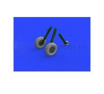 Eduard - Spitfire Mk IX roues 5 Spoke & pattern (Tamiya)