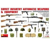 Miniart - Soviet weapons WWII