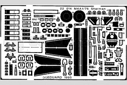 Eduard - M4A1 Sherman (revell)