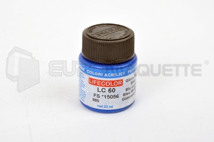 Life Color - Bleu Brillant LC60 (pot 22ml)