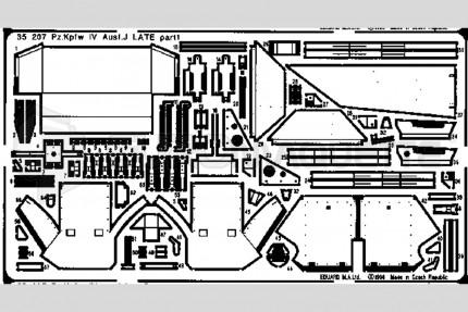Eduard - Panzer IV ausf J late (dragon)