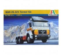 Italeri - MAN 26.321 Formel Six