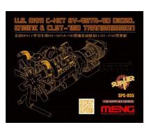 Meng - M911 C-HET Engine & Transmission