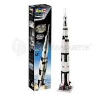 Revell - Coffret Saturn V Apollo 11 1/96