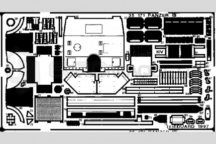 Eduard - Panzer IB (italeri/zvezda)