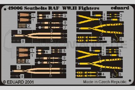 Eduard - Harnais RAF WWII
