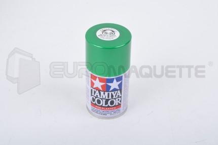 Tamiya - Vert Métal Brillant TS-20 (bombe 100ml)