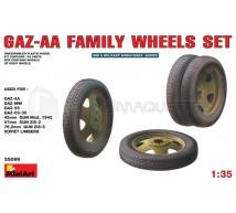Miniart - ZIS-5 roues