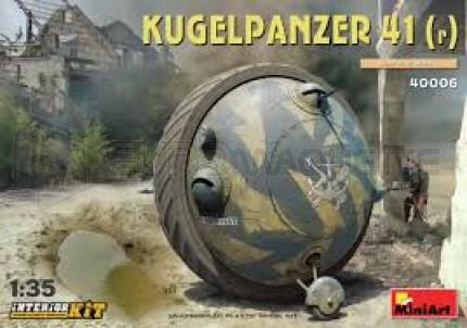 Miniart - Kugelpanzer 41 (r) & interior