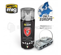 Mig products - Bombe apprêt transparent matt (400ml)