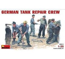 Miniart - germain tank repair crew