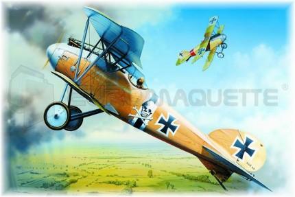 Eduard - Albatros D III  A.O.W.