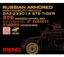 Meng - Roues pour GAZ-233014 Tiger