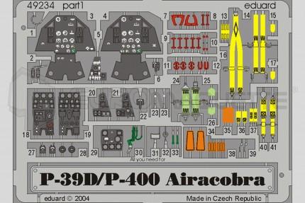 Eduard - P-39D/P-400 Airacobra(eduard)