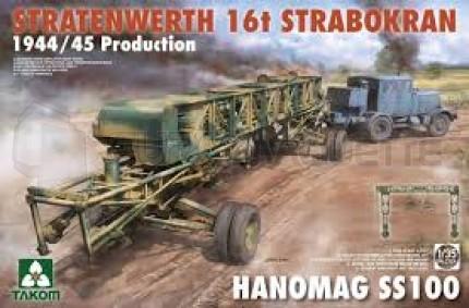 Takom - Strabokran 16T & SS100