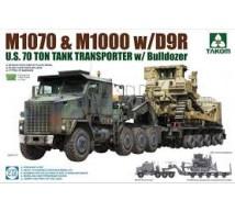 Takom - M1070 & M1000 with D9R dozer