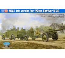 Hobby boss - M3A1 late & 122mm M30