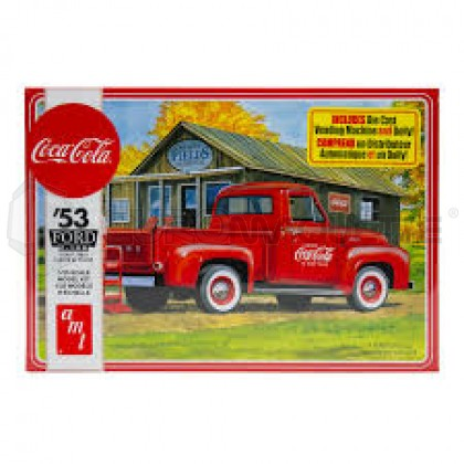 Amt - Ford 53 Pick Up Coca Cola
