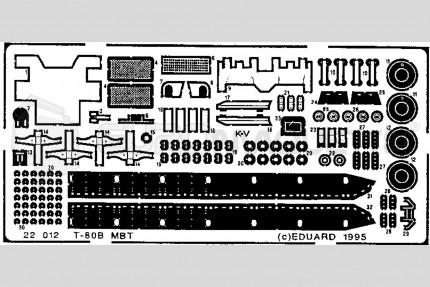 Eduard - T-80 B   (revell)