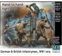 Master box - Hand to hand fight Britishs & Germans WWI
