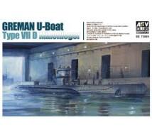 Afv Club - U Boat Type VII D 1/350