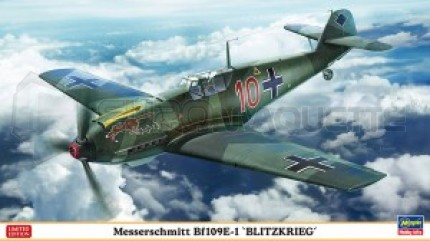 Hasegawa - Bf-109 E-1