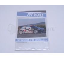 Pit Wall - Citroen DS3 WRC Raikkonen 2011