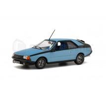 Solido - Renault Fuego GTX bleue 1982