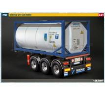 Italeri - Tecnokar trailer 20' tank