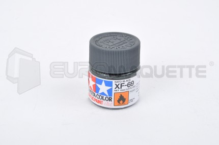Tamiya - Noir OTAN XF-69 (pot 10ml)